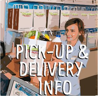 pick up and delivery link