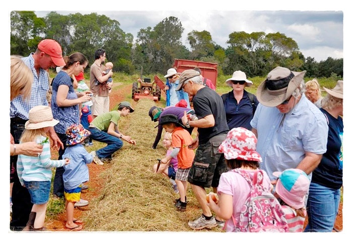 Sandy Creek Organic Farm Event